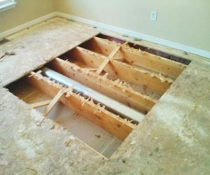 Subfloor Installation and Repair