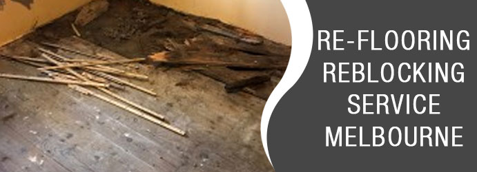 Re-flooring Reblocking Service Wallan