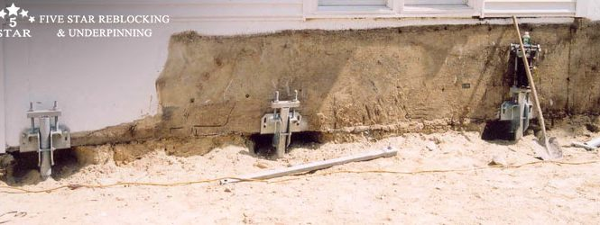 Underpinning The House